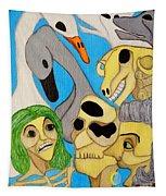 Tempvs Fvgit Mater Tapestry
