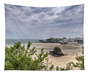 Tenby Pembrokeshire Low Tide Tapestry
