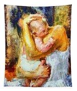 Tender Moment Tapestry