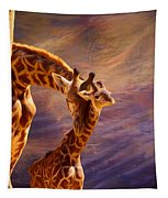 Tenderness Painted Tapestry