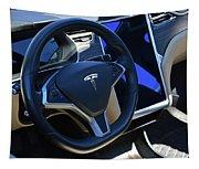 Tesla S85d Cockpit Tapestry
