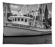 Moon Shadow Working Boat Tapestry