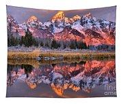 Teton Sunrise Spectacular Tapestry