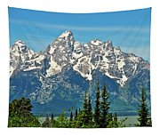 Tetons Across The Valley Tapestry