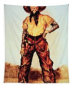 Texas Cowboy Tapestry