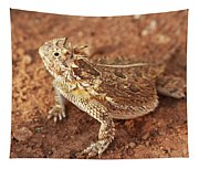 Texas Horned Lizard Tapestry