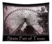 Texas Star Copper Poster Tapestry