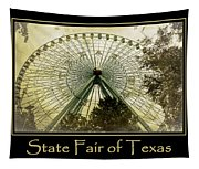 Texas Star Gold Poster Tapestry
