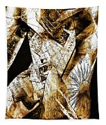 Text Wrap Statue Tapestry