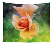 Textured Rose 3 Tapestry