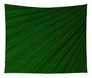 Texturized Palm Leaf Tapestry