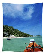 Thailand Boat Tapestry