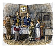 Thanksgiving, 1853 Tapestry
