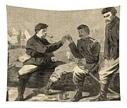 Thanksgiving Day In The Army Tapestry
