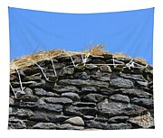 Thatched Cottage Gable Tapestry