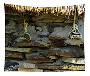 Thatched Roof Ties Tapestry