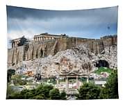 The Acropolis - Athens Greece Tapestry