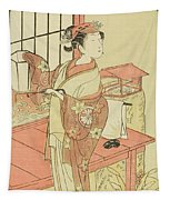 The Actor Segawa Kikunojo II, Possibly As Princess Ayaori In The Play Ima O Sakari Suehiro Genji  Tapestry