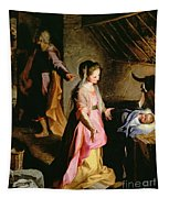 The Adoration Of The Child Tapestry