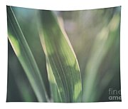 The Allotment Project - Sweetcorn Leaves Tapestry