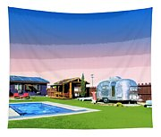 The American Dreamstate 1 Tapestry