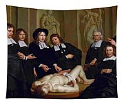 The Anatomical Lesson Of Professor Frederik Ruysc Tapestry