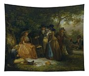 The Anglers Repast Tapestry