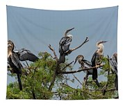 The Anhinga Perch Tapestry