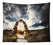 The Arch On The Edge Of Forever Tapestry