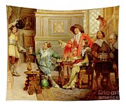 The Arrival Of D'artagnan Tapestry