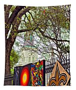 The Art Of Jackson Square Tapestry
