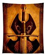The Art Of War - Eternal Portrait Of A Warrior Tapestry