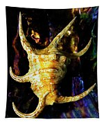 The Arthritic Spider Conch Seashell Tapestry