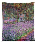 The Artists Garden At Giverny Tapestry