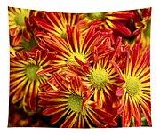 Chrysanthemum Bouquet Tapestry