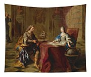 The Astronomy Lesson Of The Duchesse Du Maine Tapestry