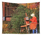 The Autumn Painter Tapestry