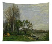 The Banks Of The Oise Tapestry