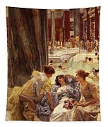 The Baths Of Caracalla Tapestry