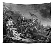 The Battle Of Bunker Hill Tapestry