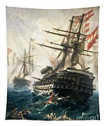 The Battle Of Lissa Tapestry
