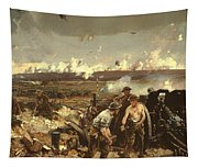 The Battle Of Vilmy Ridge Tapestry