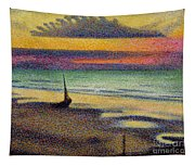 The Beach At Heist Tapestry