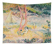The Beach At St Clair Tapestry