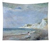 The Beach At Varangeville Tapestry