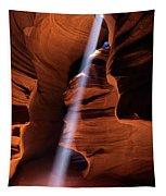 The Beam Of Light Tapestry