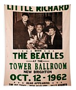 The Beatles And Little Richard Poster Collection 6 Tapestry