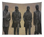 The Beatles N F Tapestry