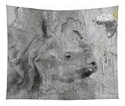 The Beautiful Rhino Tapestry