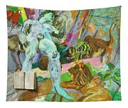 The Beginning Of Animal Stories Tapestry
